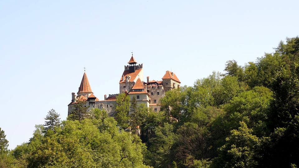 Bran Castle Romania good seats travel blog boatman wearing blue