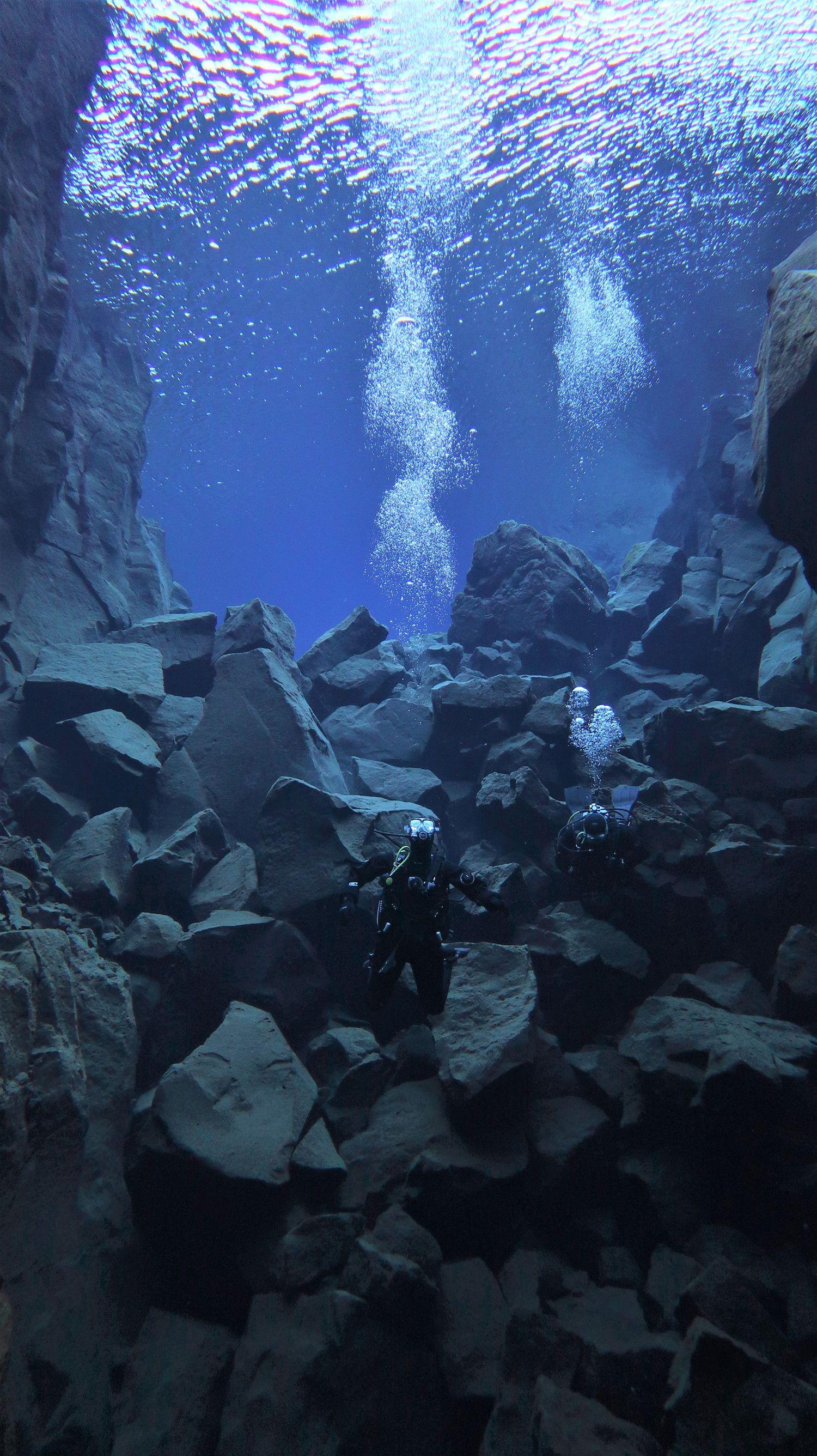 Dive Silfra Iceland